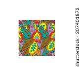 paisley patterns | Shutterstock . vector #307401872