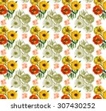 Calendars Flowers Pattern 13