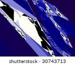 an artistic colored fractal... | Shutterstock . vector #30743713