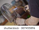 Blowtorch Worker Metal Worker...