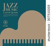 jazz | Shutterstock .eps vector #307510205
