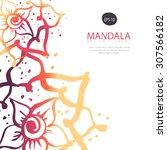 invitation  greeting card ...   Shutterstock .eps vector #307566182