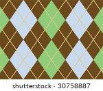 Brown Argyle Pattern