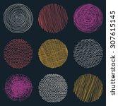 Seamless Circle Pattern. Vecto...