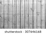 black and white old barn board  ... | Shutterstock . vector #307646168