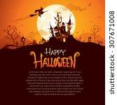 Halloween Design With Wide Cop...