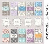 templates  cards  frames ... | Shutterstock .eps vector #307677812