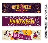 vector illustration set badges... | Shutterstock .eps vector #307726466