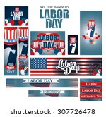vector illustration labor day a ... | Shutterstock .eps vector #307726478