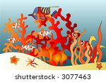 sea world | Shutterstock . vector #3077463