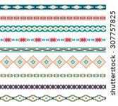 seamless pattern. vector... | Shutterstock .eps vector #307757825