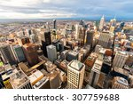 Panorama Of Melbourne's City...