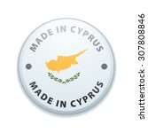 made in cyprus | Shutterstock .eps vector #307808846