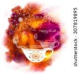 vector illustration for happy... | Shutterstock .eps vector #307819895