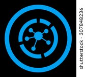 connections diagram vector icon.... | Shutterstock .eps vector #307848236