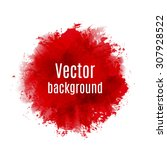 abstract background with paint... | Shutterstock .eps vector #307928522