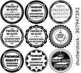 collection of premium quality... | Shutterstock .eps vector #307947392