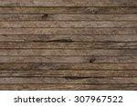 Old Vintage Grungy Brown Wood...