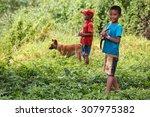 rhi lake  myanmar   june 21... | Shutterstock . vector #307975382