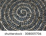 Pebbles Mosaic Floor With...