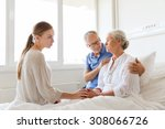 medicine  support  family... | Shutterstock . vector #308066726