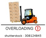 dangers of working with a... | Shutterstock .eps vector #308124845