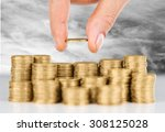 loan. | Shutterstock . vector #308125028