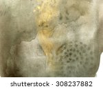black and gold abstract... | Shutterstock . vector #308237882