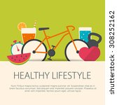 Healthy Lifestyle Concept In...
