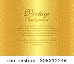 Luxury Golden Background With...