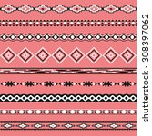 seamless pattern. vector... | Shutterstock .eps vector #308397062