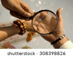 palmistry | Shutterstock . vector #308398826
