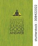 Постер, плакат: Sometimes Silence Is A