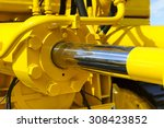 hydraulic piston system for... | Shutterstock . vector #308423852