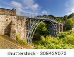 The Iron Bridge Over The River...