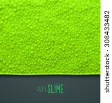 Green Slime Background  Eps 10