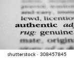 Small photo of Authentic