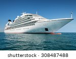 cruise ship | Shutterstock . vector #308487488