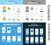mobile app wireframe ui kit 19. ...