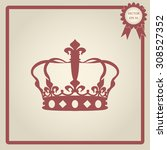 crown icon  | Shutterstock .eps vector #308527352