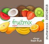 fruits   Shutterstock .eps vector #308528018