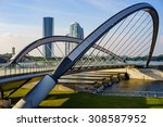 modern architecture design of a ... | Shutterstock . vector #308587952