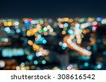 blurred abstract background... | Shutterstock . vector #308616542