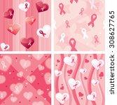 vector illustration of breast... | Shutterstock .eps vector #308627765