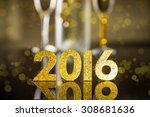 Elegant Gold 2016 New Year...