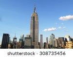 new york   august 1  2015 ... | Shutterstock . vector #308735456
