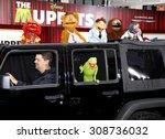 hollywood  ca    november 12 ... | Shutterstock . vector #308736032