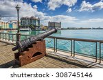 Old Cannon On The Promenade At...