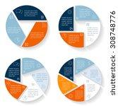big set of vector round... | Shutterstock .eps vector #308748776
