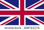 united kingdom flag   Shutterstock . vector #308762276
